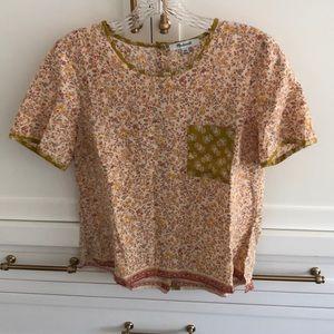 Madewell blouse xxs